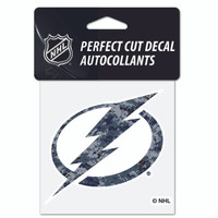 Tampa Bay Lightning Wincraft 4x4 Blue Digital Camo Decal