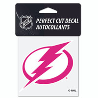 Tampa Bay Lightning Wincraft 4x4 Pink Decal