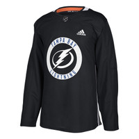ADIZERO Authentic Tampa Bay Lightning BLACK Practice Jersey