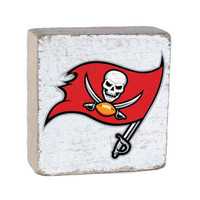 Tampa Bay Buccaneers Rustic Marlin Home Decor Rustic Block