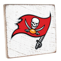 Tampa Bay Buccaneers Rusitc Marlin Vintage Square Sign