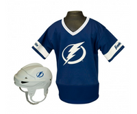 Tampa Bay Lightning Franklin Sports Kids Uniform Team Set