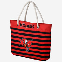 Tampa Bay Buccaneers Forever Collectibles Nautical Stripe Tote