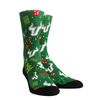 USF Bulls Holiday Rock Em Socks