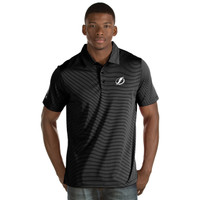 Tampa Bay Lightning Antigua Quest Black Polo