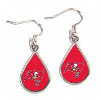 Tampa Bay Buccaneers WinCraft Tear Drop Earrings