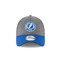 Men's Tampa Bay Lightning New Era Shadow Tech Graphite 39Thirty Flex Hat