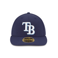 Men's Tampa Bay Rays New Era Official On Field Low Pro Hat