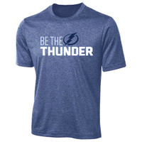 Tampa Bay Lightning Men's Be The Thunder Performance T-shirt