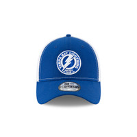 Men's Tampa  Bay Lightning New Era 2-Tone Shoulder Patch Flex 39Thirty Hat