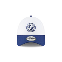 Men's Tampa Bay Lightning New Era Shoulder Patch Logo Adjustable Hat
