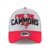 Men's Tampa Bay Buccaneers New Era 2018 NFL Draft Official On-Stage 39THIRTY Flex Hat