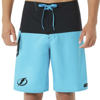 Men's Tampa Bay Lightning Oakley Road Block 20 Boardshorts
