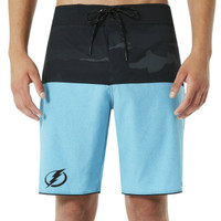 Men's Tampa Bay Lightning Oakely Camo Block 19 Boardshorts