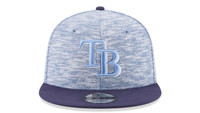 Men's Tampa Bay Rays New Era Terry Fresh Snapback Hat