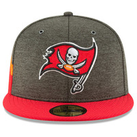 Men's Tampa Bay Buccaneers 2018 New Era Sideline Fitted Hat