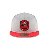 Men's Tampa Bay Buccaneers 2018 New Era Sideline Road Fitted Hat