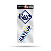 Tampa Bay Rays Double Up Combo Decal Pack