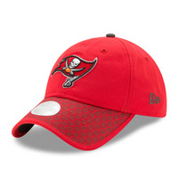 Women's Tampa Bay Buccaneers 2017 New Era Sideline Official Adjustable Hat