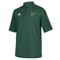 Men's University of South Florida Adidas Official Sideline Iconic 1/4 Zip