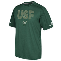 Men's University of South Florida Adidas Official Sideline Training Tee