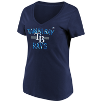 Women's Tampa Bay Rays Majestic Rentless Attack Tee