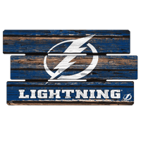 Tampa Bay Lightning Wincraft H Wood Sign