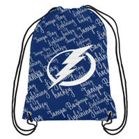 Tampa Bay Lightning Forever Collectibles Reflective Script Backpack