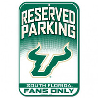USF Bulls Reserved Parking Sign