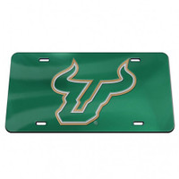 USF Bulls WinCraft Crystal Mirror License Plate
