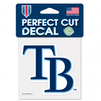 "Tampa Bay Rays WinCraft Perfect Cut Color Decal 4"" X 4"""