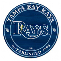 Tampa Bay Rays WinCraft Wood Sign