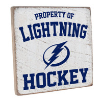 Tampa Bay Lightning Rustic Marlin Property of Vintage Square