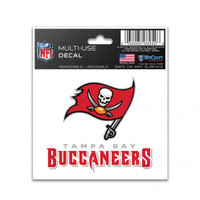 "Tampa Bay Buccaneers WinCraft Multi-Use Decal 3""x4"""