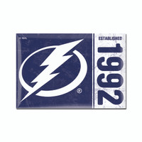 Tampa Bay Lightning WinCraft 2x3' Established Magnet