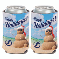 Tampa Bay Lightning WinCraft Holiday Can Cooler Koozie