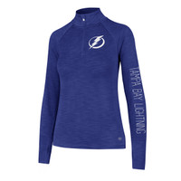 Women's Tampa Bay Lightning Forward Shade Royal 1/4 Zip