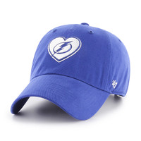 Women's Tampa Bay Lightning 47' Brand Courtney Clean Up Hat