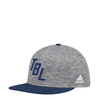 Men's Tampa Bay Lightning adidas Heathered Ligature Flex Hat