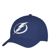 Men's Tampa Bay Lightning adidas Structured Flex Royal Logo