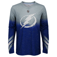 Youth Tampa Bay Lightning Attitude Long Sleeve Tee