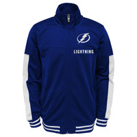 Youth Tampa Bay Lightning Goal Line Full Zip Jacket