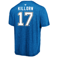 Men's Tampa Bay Lightning Alex Killorn Name & Number Performance Tee