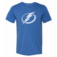 Men's Tampa Bay Lightning Tri-Blend Logo GS T-shirt