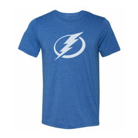 Youth Tampa Bay Lightning Tri-Blend Logo GS Tee