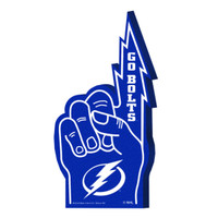 "Tampa Bay Lightning GS ""GO BOLTS"" Foam Finger"