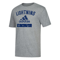 Men's Tampa Bay Lightning adidas Tri-Blend Faded Tee