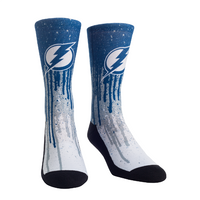 Tampa Bay Lightning Pride Drip Socks