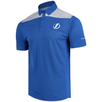 Men's Tampa Bay Lightning Columbia Omni-Wick Utility Polo