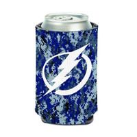Tampa Bay Lightning Digital Camo 12 oz. Can Cooler